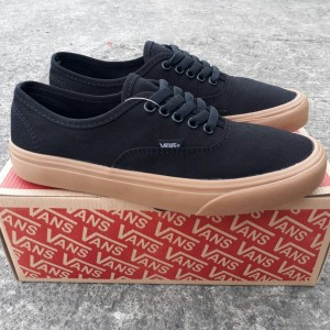 Jual SEPATU VANS AUTHENTIC BLACK SOL GUM WAFLE IFC ORIGINAL BNIB - SNEAKERS fb641592a5