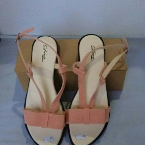 Jual Terbaru Sepatu Wanita - SANDAL TEPLEK PITA MD06 SALEM