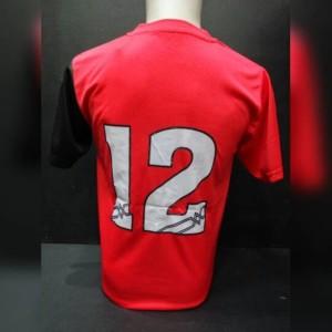 (Diskon) Setelan Timset Baju Voli Mizuno #MZ05 isi 12 Pcs Merah
