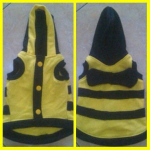 Baju Hodie Kucing Anjing Bee Tokopedia