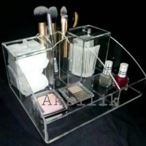 Promo Acrylic Tempat Kosmetik Akrilik Acrylic Display Cosmetic M3 Tokopedia