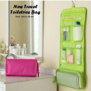 Travel Bag Hanging Toiletries Bag Organizer Tas Kosmetik Toilet Mandi Tokopedia