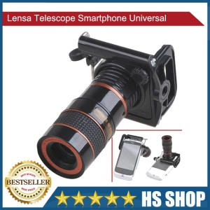 Lensa Telescope Smartphone Universal Tokopedia