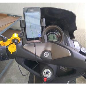 Usb Charger Motor Waterproof Cas Hp Di Motor Tokopedia