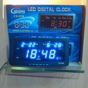 Jual ORIGINAL - Jual Jam Digital Caixing CX2158 Led Hijau / Biru