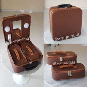 Koper Make Up Case Beauty Case Kotak Tas Kosmetik Box Elips Tokopedia
