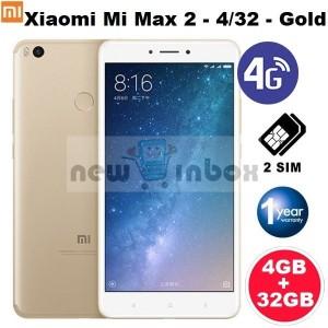 Mi Max 2 Gold 4gb 64gb 5300mah Garansi 1 Tahun Tokopedia