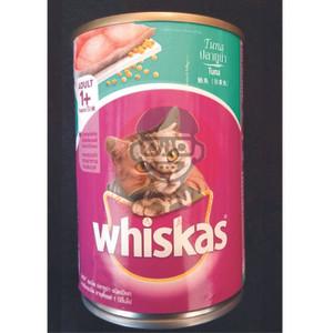 Jual Makanan Kucing Whiskas Tuna Kaleng 400g