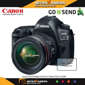 Canon Eos 5d Mark Iv Body Sc 8 800 Mulus Like New Fullset Box Tokopedia
