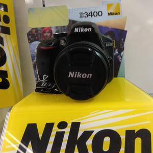 NIKON D3400 KIT AF-P 18-55VR F 3.5/5.6