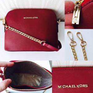 Jual Termurah Tas Selempang Wanita MichaelKors Candy Premium Red (MK Candy 98592eada7
