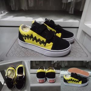 Vans Old Skool Anak Sepatu Sneakers Kids Tokopedia