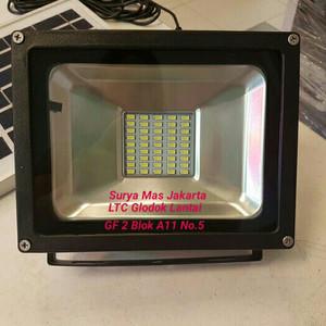 Jual Lampu Sorot Taman 20w 20 W Watt SMD Solar Panel Led