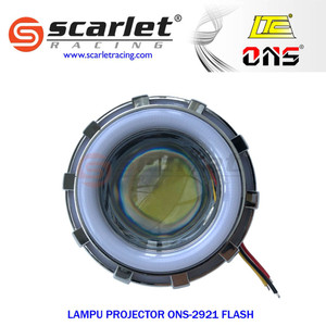 Jual Lampu Led motor projie/projector double lamp ONS 2921.