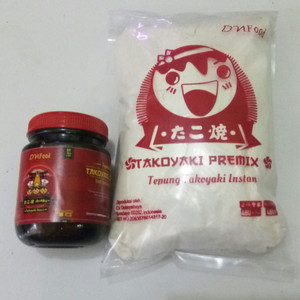 Jual Tepung takoyaki + saos takoyaki