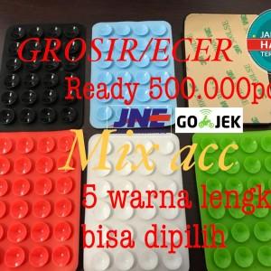 Gurita Holder Tentakel Karet Tempelan Perkat Handphone Ke Dashboard Mobil Motor Gojek Grab With Lem 3m Hp Tokopedia