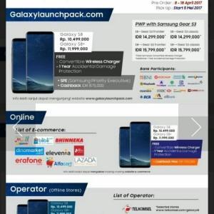 Samsung Galaxy S8 Plus Ram 4gb Internal 64gb Garansi Resmi Sein 1 Tahun Tokopedia