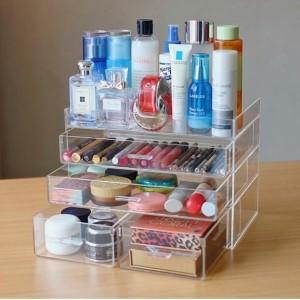 Acrylic Tempat Kosmetik M Tokopedia