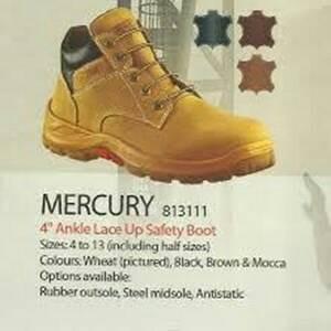 Sepatu Safety Aetos Mercury 813111 Tokopedia