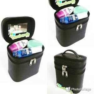 Tas Kosmetik Tempat Makeup Beauty Case Makeup Pouch Full Color Tokopedia