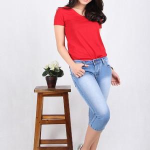 Celana Jeans Wanita Cropped 7 8 7703 Tokopedia