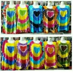 Baju Kaos Atasan Pelangi Bali Kaos Bali Tokopedia