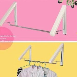 Gantungan Baju Lipat Indoor Multifunction Clothes Hanger Tokopedia