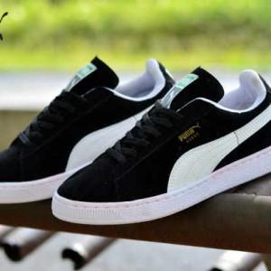Produk Murah Sepatu Puma Suede Classic Import Biru Kuning Casual ... 1b3da730a4