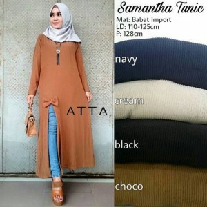 Baju Atasan Wanita Blouse Samatha Tokopedia