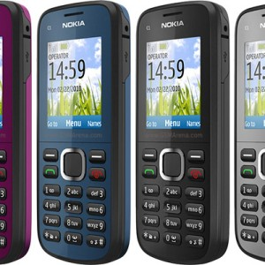 Hp Nokia C1 02 Tokopedia