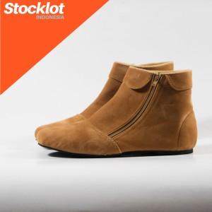 Sepatu Wanita Boots Tan Tokopedia