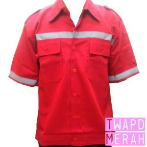 Baju Safety Atasan Lengan Pendek Tokopedia