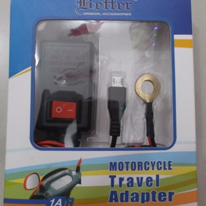 Praktis Charger Hp Motor Usb 12 24 V Waterprooft Bergaransi Tokopedia