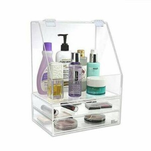 Acrylic Kosmetik Organizer Tempat Make Up Akrilik Md Tokopedia
