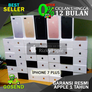 Iphone 7 Plus 128gb Garansi Distributor 1 Thn Tokopedia