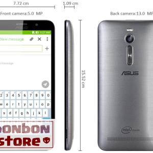 Asus Zenfone 2 Ze551ml Silver Ram 4gb 64gb Garansi Distributor Tokopedia