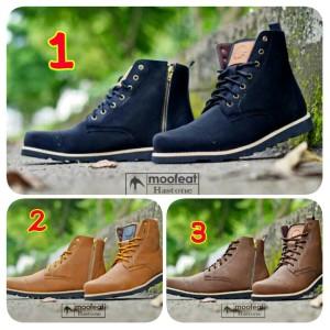 Sepatu Boots Pria Original Moofeat Pentura Black - Info Daftar Harga ... 2d186d9220