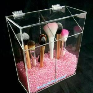Acrylic Akrilik Make Up Tempat Kosmetik Coloor Lipstik Tokopedia