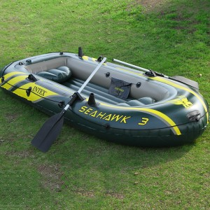 Perahu Karet Muat 3 orang untuk dilaut, danau,Mancing, Banjir
