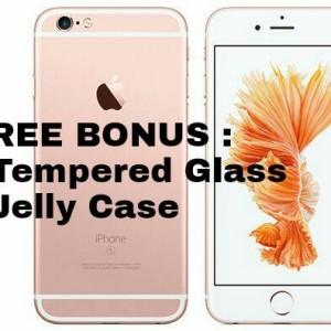 Iphone 6s 64gb Gold Bonus Shining Chrome Ume Original Tokopedia