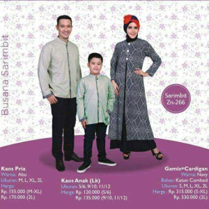 Temukan Produk Baju Muslim Keluarga Lebaran Murah Terbaru Bulan