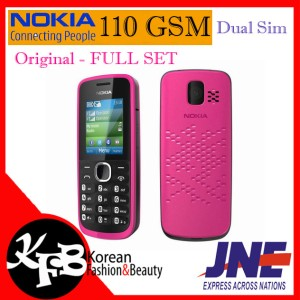 Nokia 110 Dual Sim Gsm Bisa Micro Sd Card Tokopedia