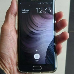 Samsung Galaxy S6 Edge 64gb Fullset Mulus Tokopedia