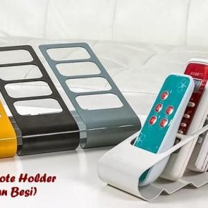 Jual Remote Holder Stand Besi Rak Organizer Tempat Remot AC DVD TV Portable 68342b8876