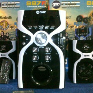Speaker Gmc Bluetooth 887f Tokopedia
