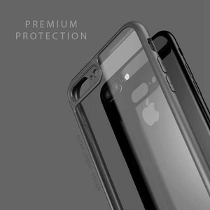 Iphone 8 Plus Slim Thinnest Crystal Clear Bumper TPU Case Cover