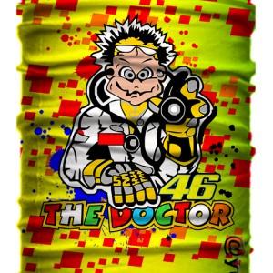 Jual Masker Baff Bandana Valentino Rossi The Doctor MotoGP Kain Multifungsi