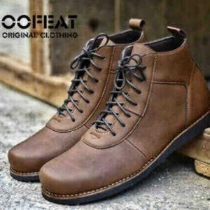 Sepatu Murah Moofeat Brodo New Brown Tokopedia