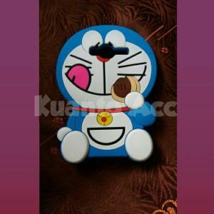 Case 4D Doraemon Dorayaki Samsung J1 Ace/New/Karakter/Soft/Silikon/