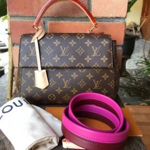 Jual Tas LV Louis Vuitton Cluny BB Monogram Asli   Ori   Authentic 5f8bc74b81
